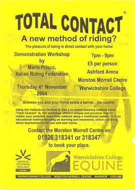 England - stage demonstration flyer