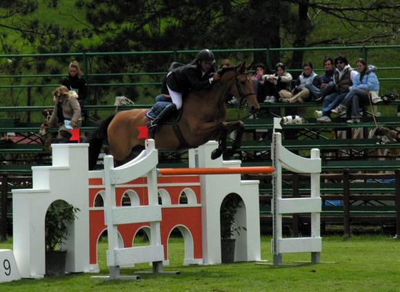 Giampiero Carta using Total Contact saddle at the Italian Championship in 2005